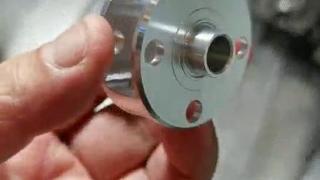 铝材型芯架第一工序