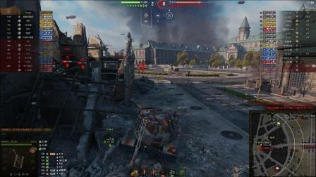 坦克世界 喷火龙5A三环121山地之王