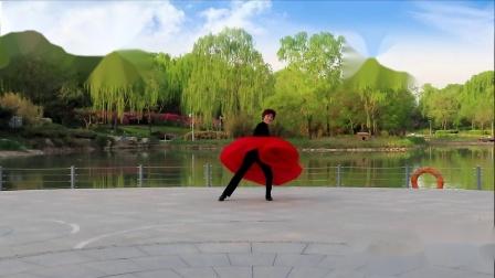 学跳毛老师的舞蹈《红梅花儿开》