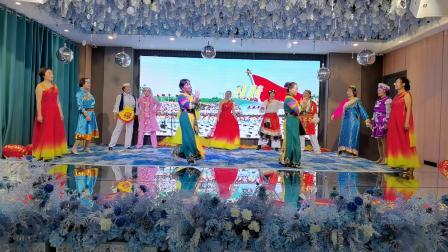 民和县茉莉艺术团《中华民族一家亲》