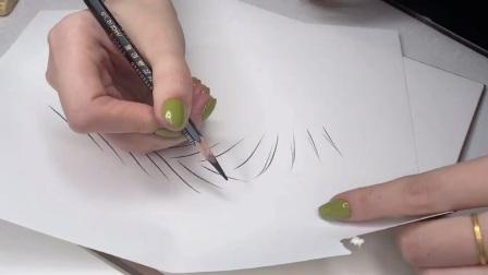 #安康纹绣技术哪家强?#野生眉排列设计