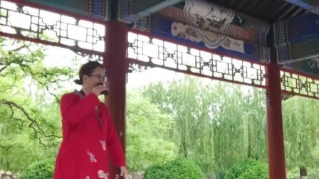 安红艳在北京日坛公园演唱二夹弦十八里相送