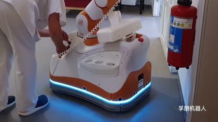 孚朋机器人|Lio-瑞士养老院消杀作业