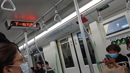上海地铁12号线雪碧二世曲阜路-天潼路(终点站金海路)