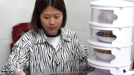 有了这个保温菜罩,不串味还保温,经常做饭的一定要安排上