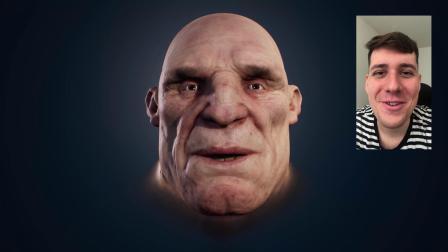 Troll animation test with Dynamixyz