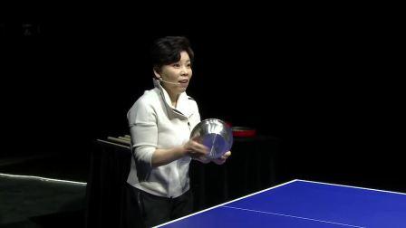 邓亚萍、谢德胜巅峰世纪对决人机乒乓球大战