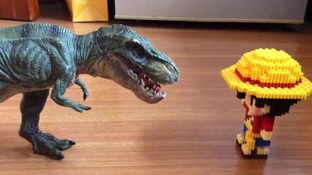 """我害怕鬼👻(老八(是这只霸王龙,因为""""霸""""和""""八""""是谐音,所以我就给他取了这个名字)篇)"""