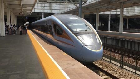 D5604次进芜湖站