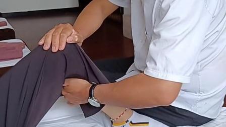 腿部经络疏通推拿可以促进腿部的血液回流,使腿部肌肉的代谢产物及时清除,对缓解腿部肌肉酸困疼痛有很好的效果,另外可以缓解腿部肌肉的疲劳。#推拿#按摩#massag