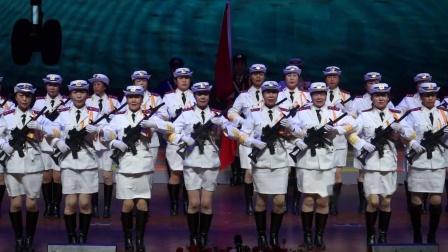 22仪仗队表演《解放军进行曲》丁丁艺术团