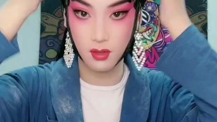 京剧舞台旦角化妆