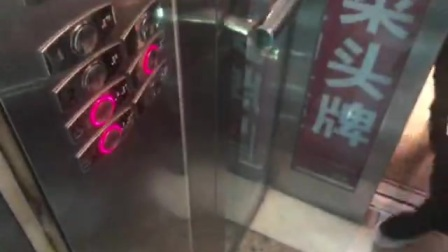 长沙万达广场2号观光电梯12