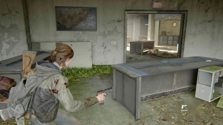 PS4中文美国末日最后生还者2一周目困难难度实况解说05