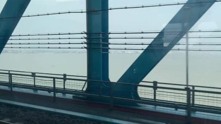 G8354过沪苏通长江大桥(CRH380D-1504担当)