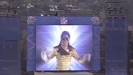 迈克尔杰克逊最吊炸天的出场,随机带走几名观众