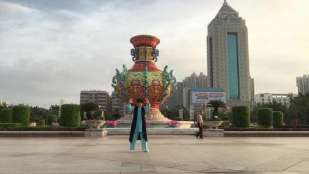 茂名文化广场学习打拳!