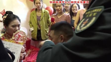 闻喜东镇东姚村张鸫赵潇宇今生有约共度爱河