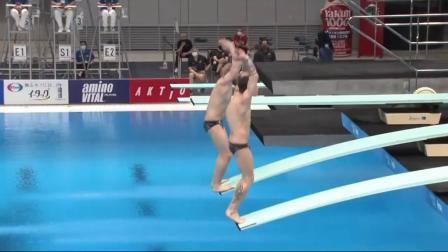 男双跳水(3米)决赛世杯2021 1080
