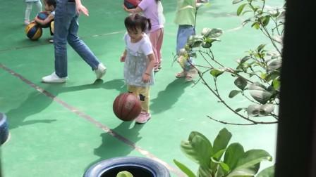 5月7日姐姐操场打球