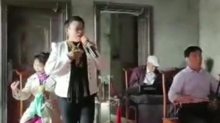 河南地方戏古玩城戏曲大舞台走进镇平席国郦刘玲演唱曲剧《屠夫状元》叫哥哥选段
