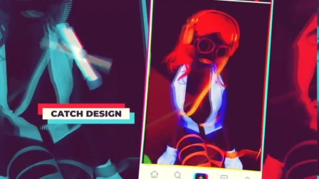 FCPX模板 抖音视频包装展示开场 TikTok Promo