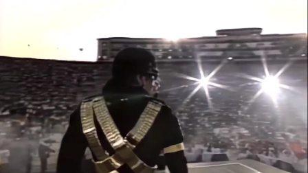 迈克尔杰克逊轰动世界的表演,舞台上伫立三分钟不动,光摘墨镜就用了九十秒