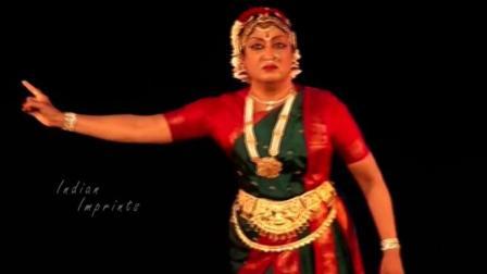 印度古典舞大师Padma Subrahmanyam与弟子的婆罗多舞