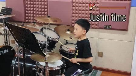 【架子鼓】《Justin time》李添博 小鼓手