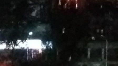 抚顺市石化宾馆20点报时钟声敲响。