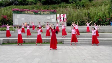 南湖望月 歌颂伟大的祖国 伟大的党!曾惠林舞蹈队