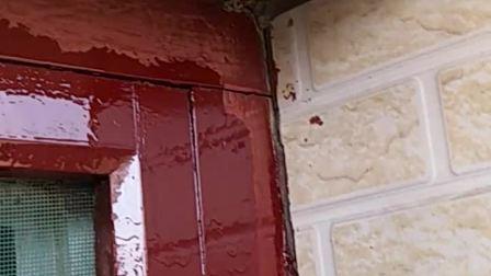 蜂窝边油添漆