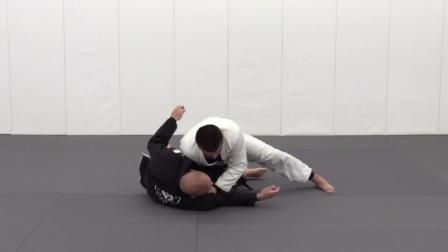 巴西柔术knee side smash 过腿技术