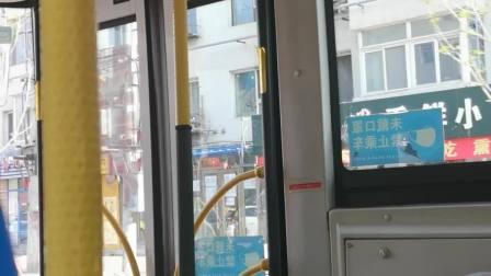坐从香山路到雾凇路客运站的61路公交车