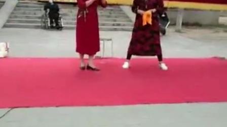河南地方戏郑州市戏迷乐园刘玲高荣华演唱曲剧《生死牌》选段
