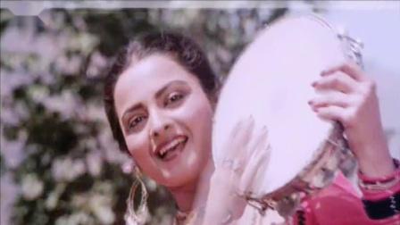 【宝莱坞怀旧】【瑞卡女神】80年代经典老电影《两兄弟》女星 Rekha 歌舞插曲 Yaar Ki Khabar Mil Gayi