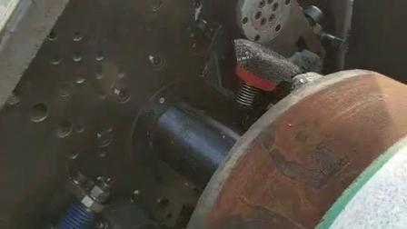 德平科技CRA复合管坡口机东方预制管项目现场视频