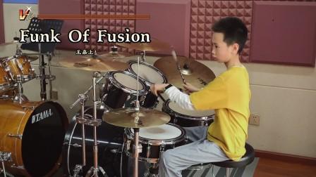 【架子鼓】《Funk Of Fusion》 王嘉上 小鼓手