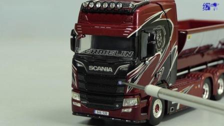 WSI Scania R 'Wermelin' by Cranes Etc TV