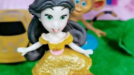 美人鱼公主摔倒了