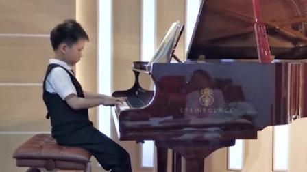 英皇八级钢琴考级曲目:贝多芬的德意志风格的急板