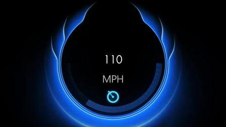 AE - 表达式 - 汽车仪表盘