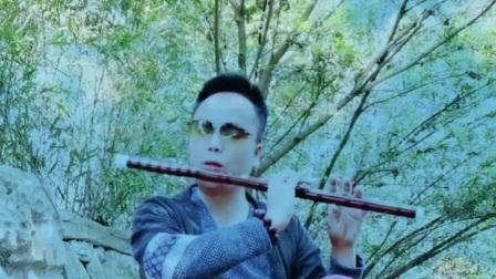 边疆的泉水清又纯笛子动态简谱吹奏示范