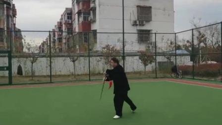 双手剑精彩动作片段
