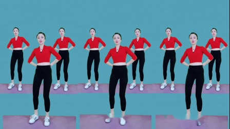 长视频暴汗操《谁家的姑娘》完整版健身操,单人广场舞!