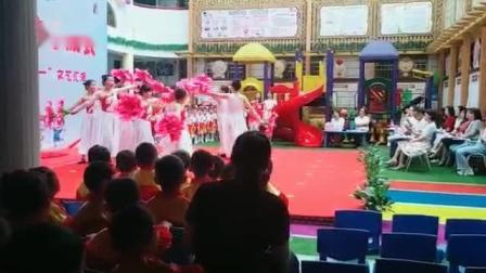 2021年六一镇巴县幼儿园教师集体舞20210601
