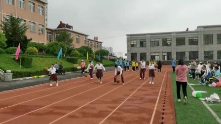 金州区特殊教育学校拍球跑
