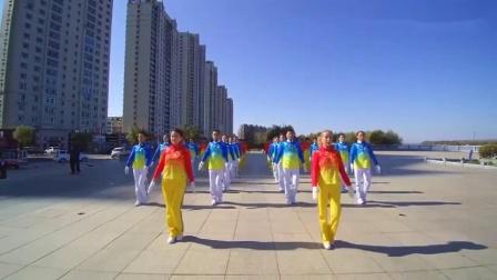 4、佳木斯教学音乐健身操B组  第4节  扩胸运动