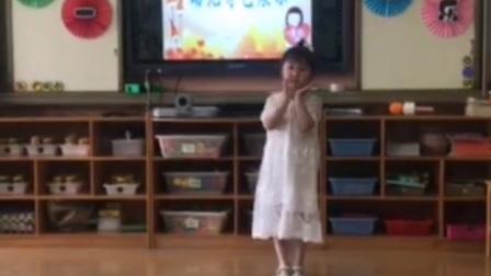 2021年6月1日儿童节悦悦宝宝和小朋友在过儿童节!悦宝贝还单独表演节目了!