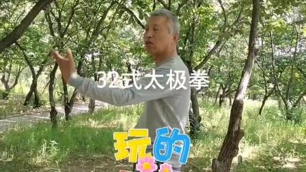 演练32式太极拳